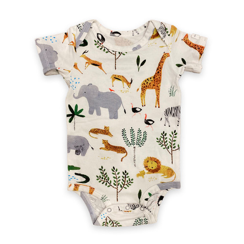 Safari Short Sleeve Body Suit  | Registry Item For E+J