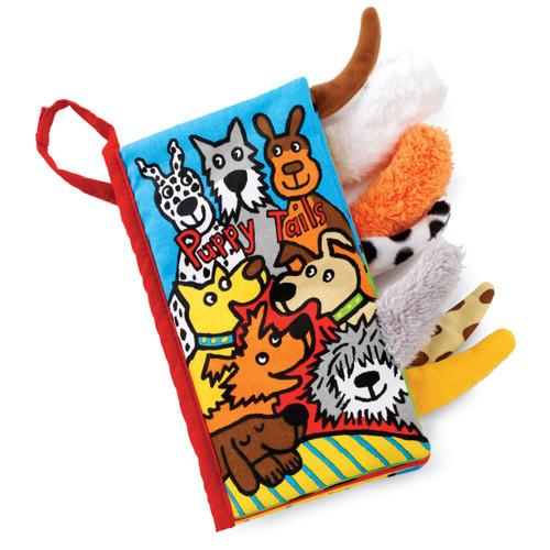 Jellycat Puppy Tails Book BK444PTUS
