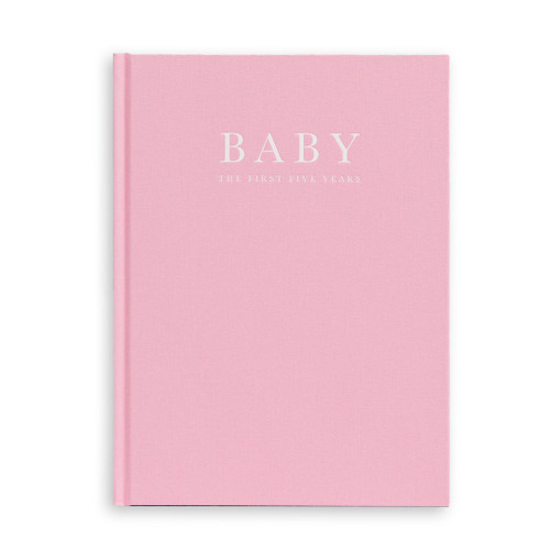 Baby | First 5 Years - Memory Book - Pink