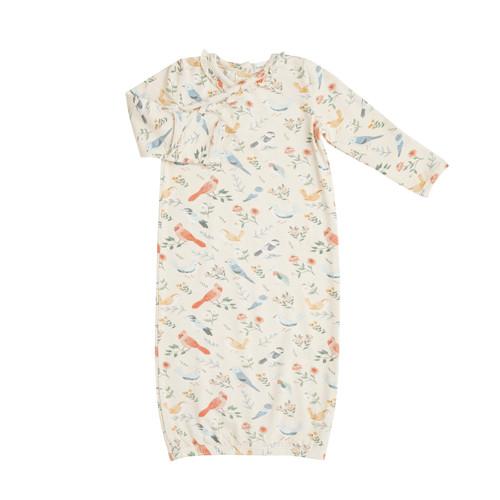 Kimono Gown - American Birds