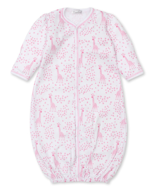 Speckled Giraffes - Pink Convertible Gown