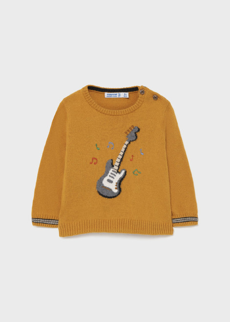 Mustard Guitar Sweater