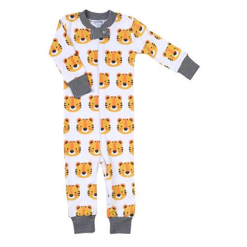 Tiger Zipped Pajama