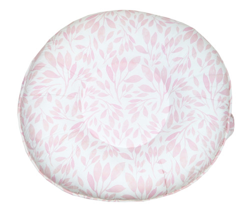 Luxe Floor Pillow - Poppy Coral