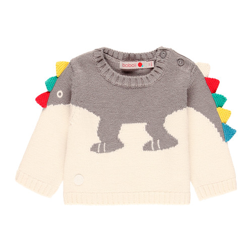Dino knit sweater