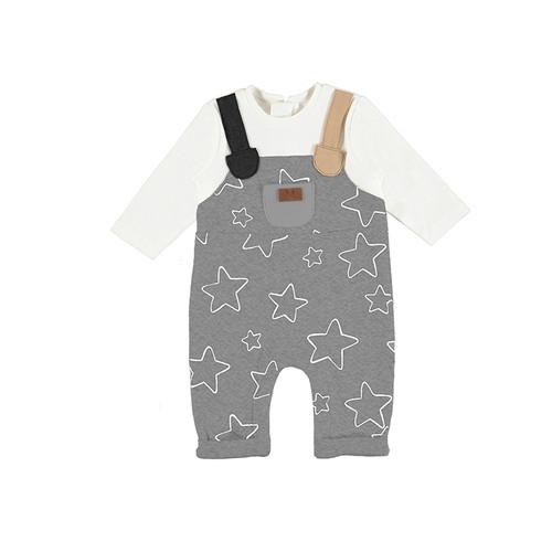 Grey Star Overall Onesie