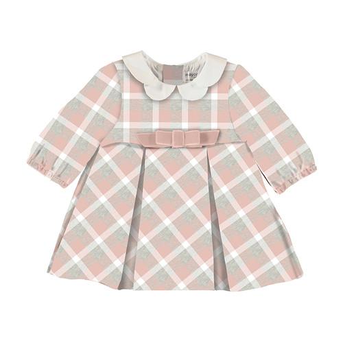 Pink Plaid Flannel Dress