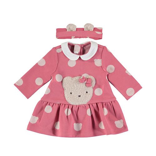 Boucle Bear Dress and Headband Set