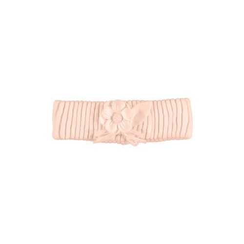 Flower Knit Headband - Rose