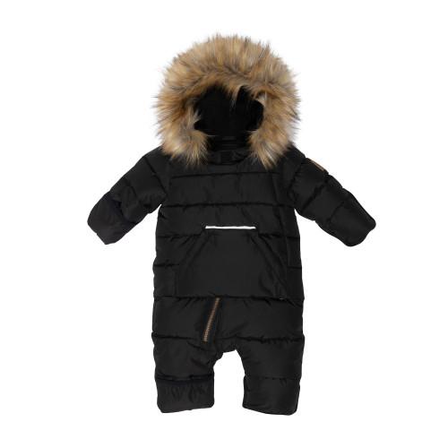 Puffy Snowsuit - Black