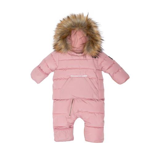 Puffy Snowsuit - Pink