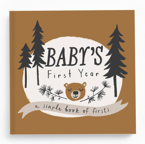 Little Camper Memory Baby Book