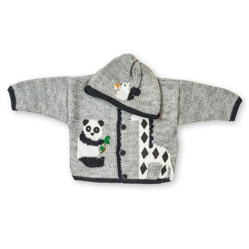 Panda Bear Hat and Sweater Set | Registry Item For A+N