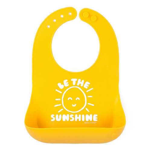 Be The Sunshine Silicone Bib | Registry Item For A+N