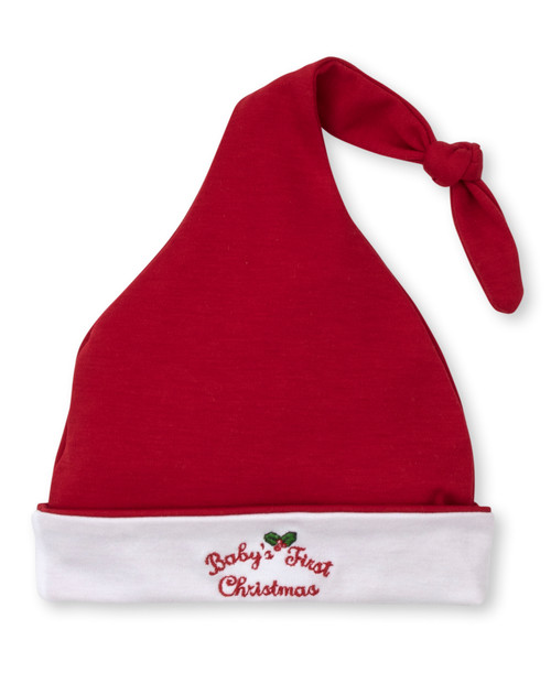 Baby's First Christmas Hat - Red