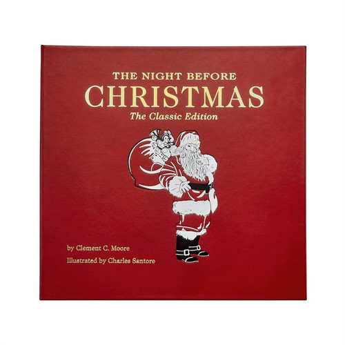 The Night Before Christmas - Leather Bound