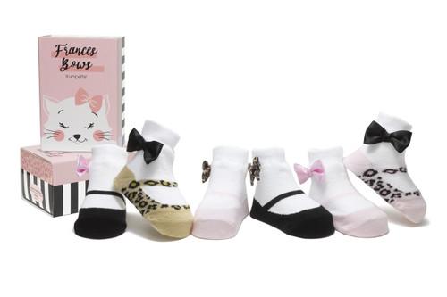 Frances Bows 6 Pack Socks