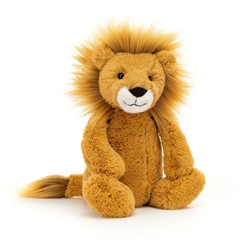 """Bashful Lion - Medium 12x5"""""""