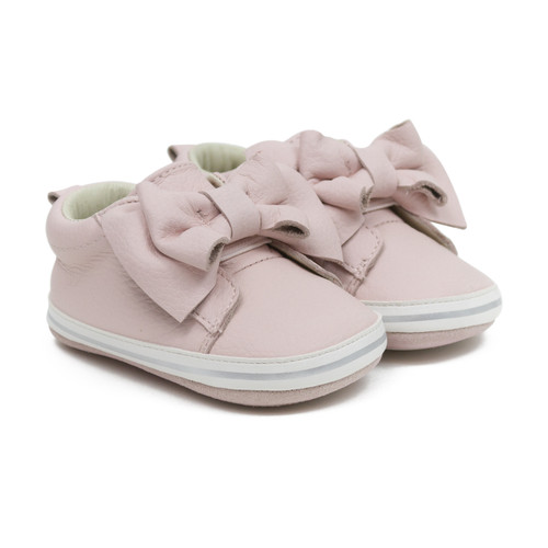 Aria Pink Soft Sole Sneakers