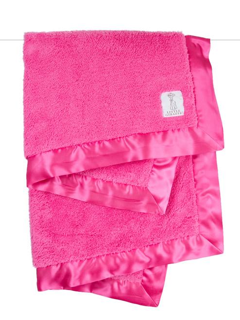 Chenille Blanket - Raspberry