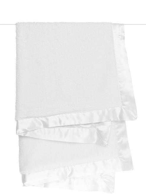 Chenille Blanket - White