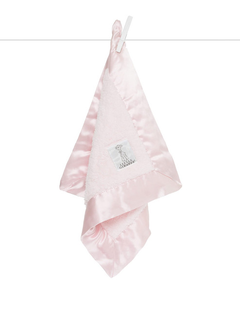 Chenille Lovey -  Pink