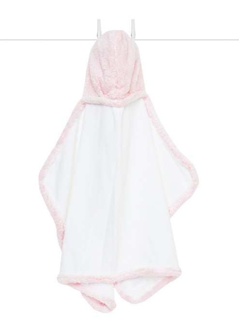 Hooded Chenille Towel - Pink