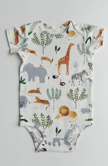 Safari Print Body suit