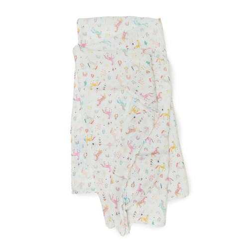 Muslin Swaddle - Unicorn