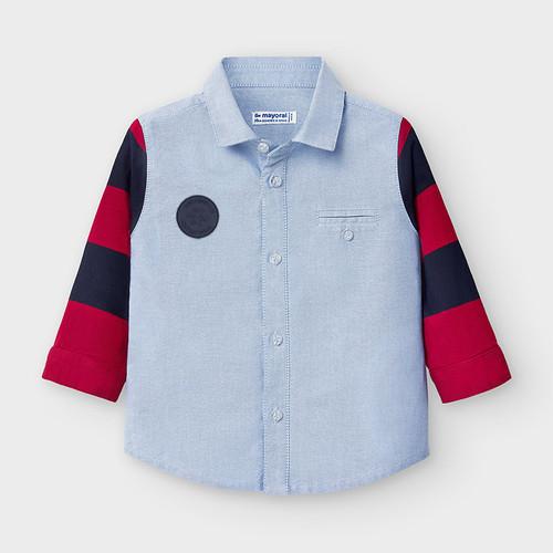 Chambray Polo Shirt