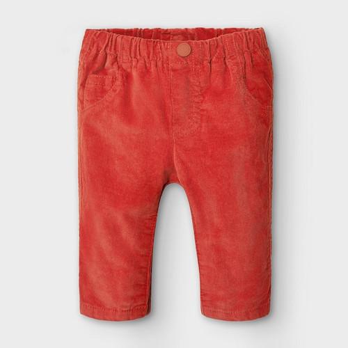 Orange Corduroy Pant