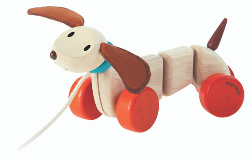 Happy Puppy Pull Toy