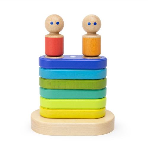 Magnetic Floating Stacker Toy