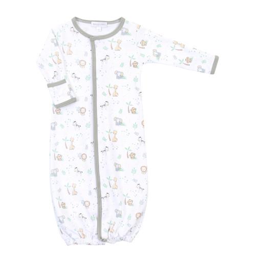 Sweet Safari Newborn Convertible Gown - A+C