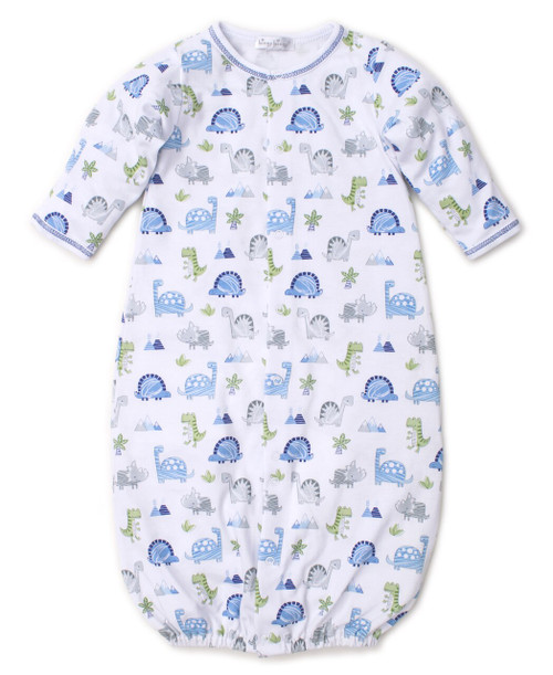 Dino Crew Print Convertible Gown - A+C