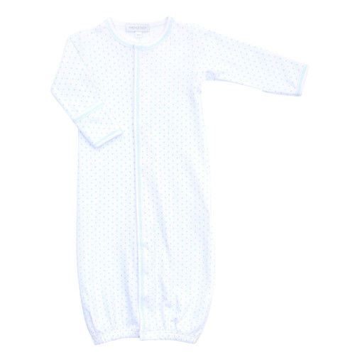Mini Dot Converter Gown - Blue