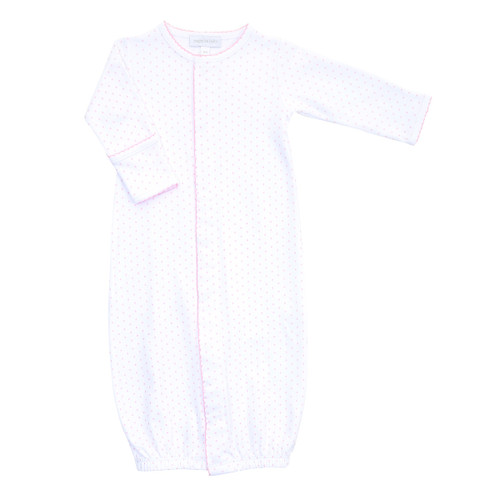 Mini Dot Converter Gown - Pink