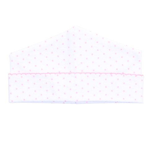 Mini Dot Hat - Pink