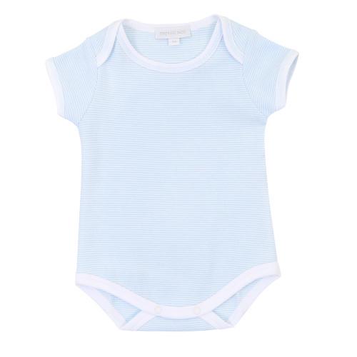 Mini Stripe Onesie - Blue