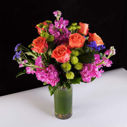 COLOR HER DAY BOUQUET