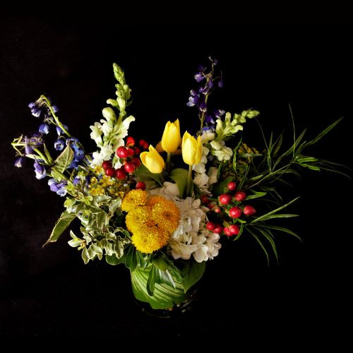 SUNSHINY FALL DAY BOUQUET
