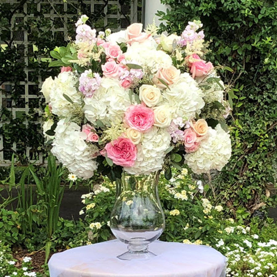 GARDEN PARTY ALTAR ARRANGEMENT