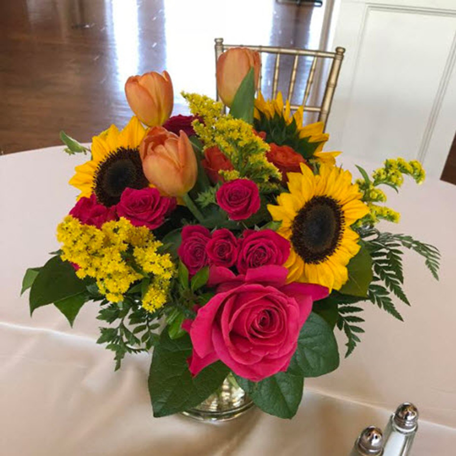 SUNFLOWER GARDEN CENTERPIECE