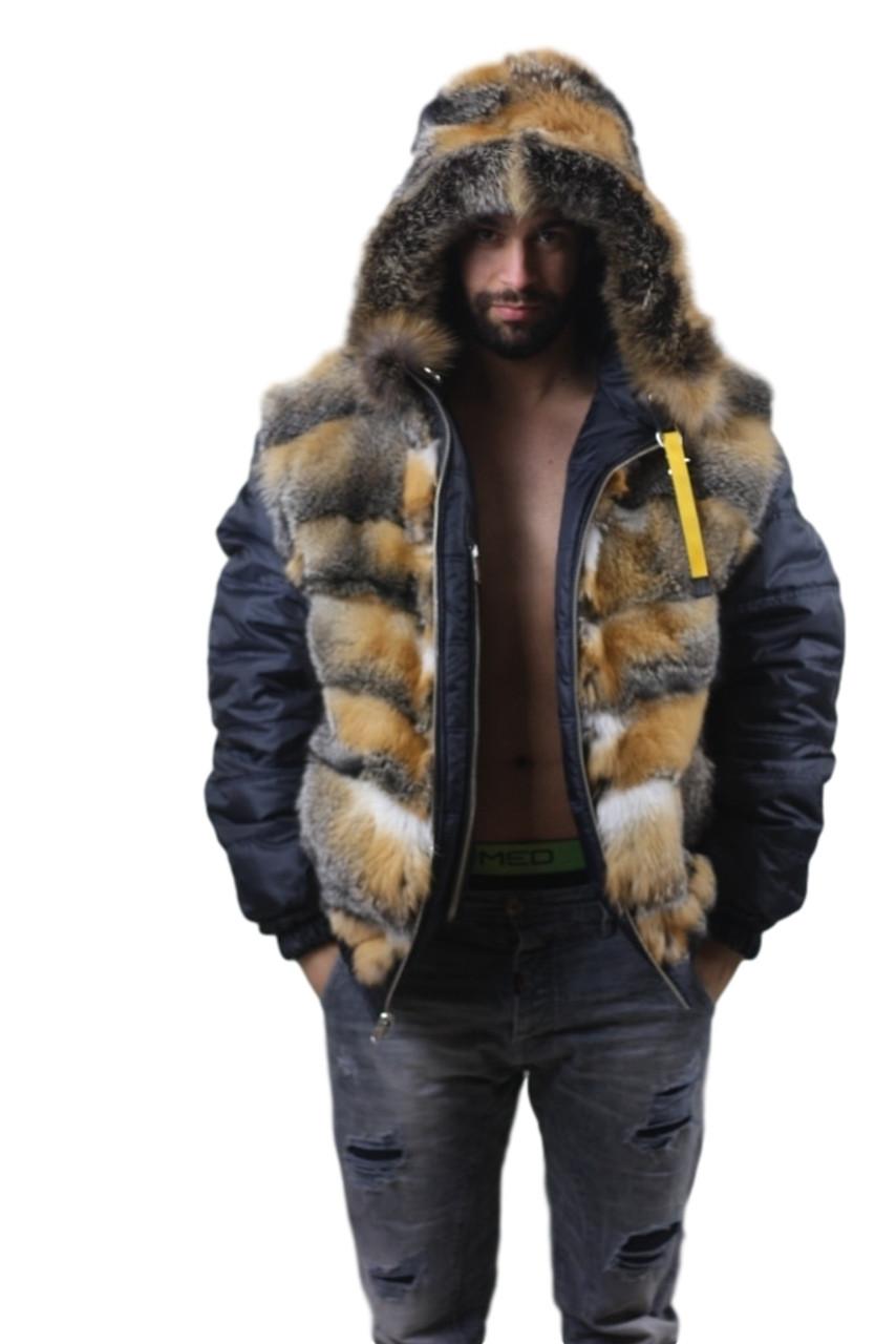 Fur Lined Parka Mens