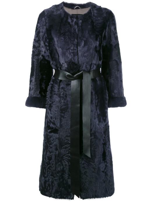 Blue Persian Lamb Coat