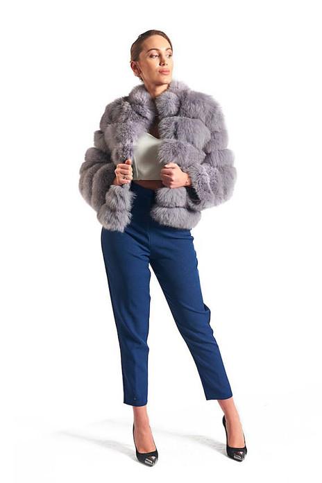 Lavender  Fox  Coat