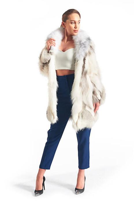 Arctic Ice  Fox Fur Coat
