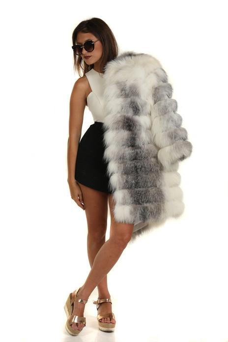 Arctic Frost Fox Fur Coat