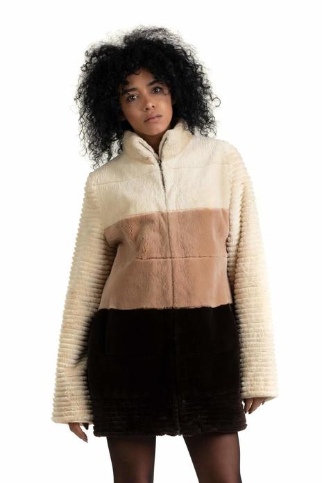 Tricolor Beaver Jacket