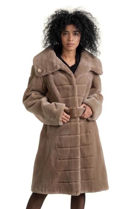 Knee Length Beaver Fur Stroller